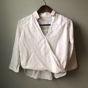 Hollister Cotton Pullover Blouse